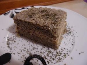 Mint seed cake (raw)