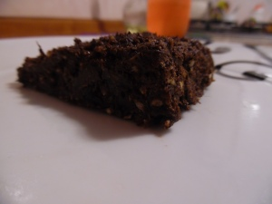 Chocolate brownies (raw)